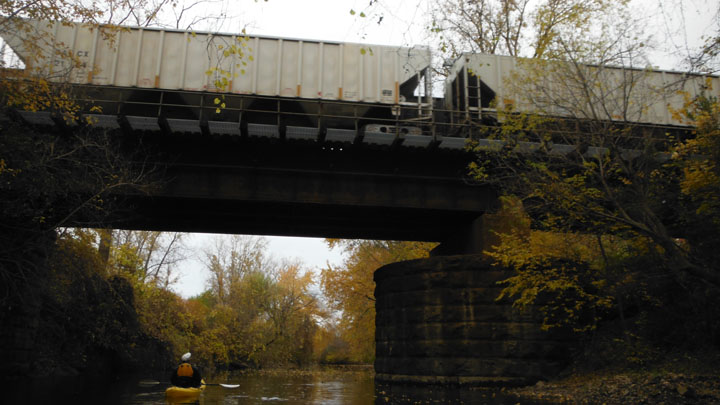 Train Bridge Swan Creek 11-04-2013