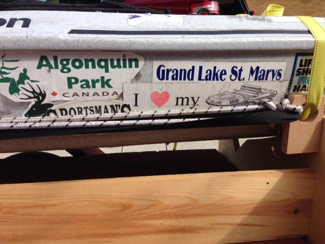 John's Kayak w stickers 1