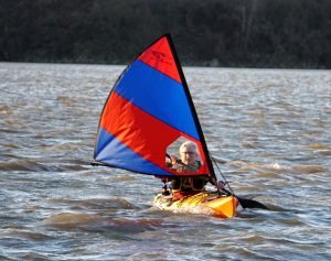Kayak Sailing