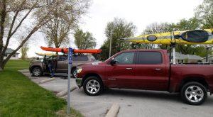 First weekly kayak trip 2019