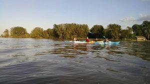 Weekly kayak trip